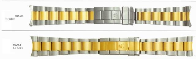 Bracelet rolex 93153