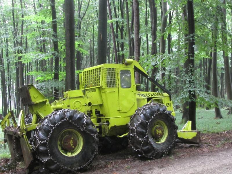 tracteur forestier tree farmer