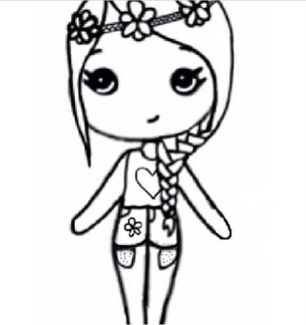 Insram Chibi Coloring Pages Coloring Pages