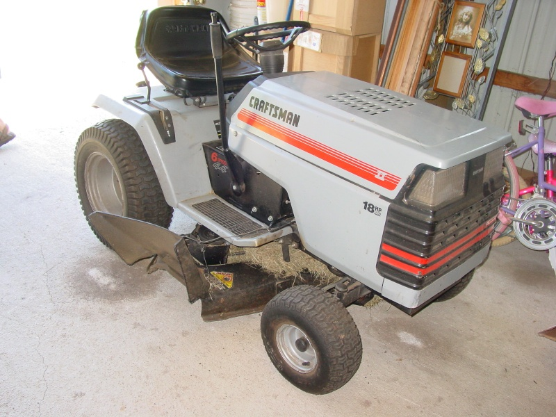 Craftsman GT II My first AT Tractor