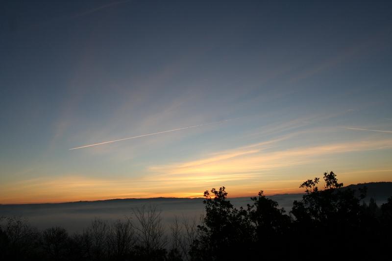 Ciel Leymarie 4 déc 2013 avant le lever du soleil
