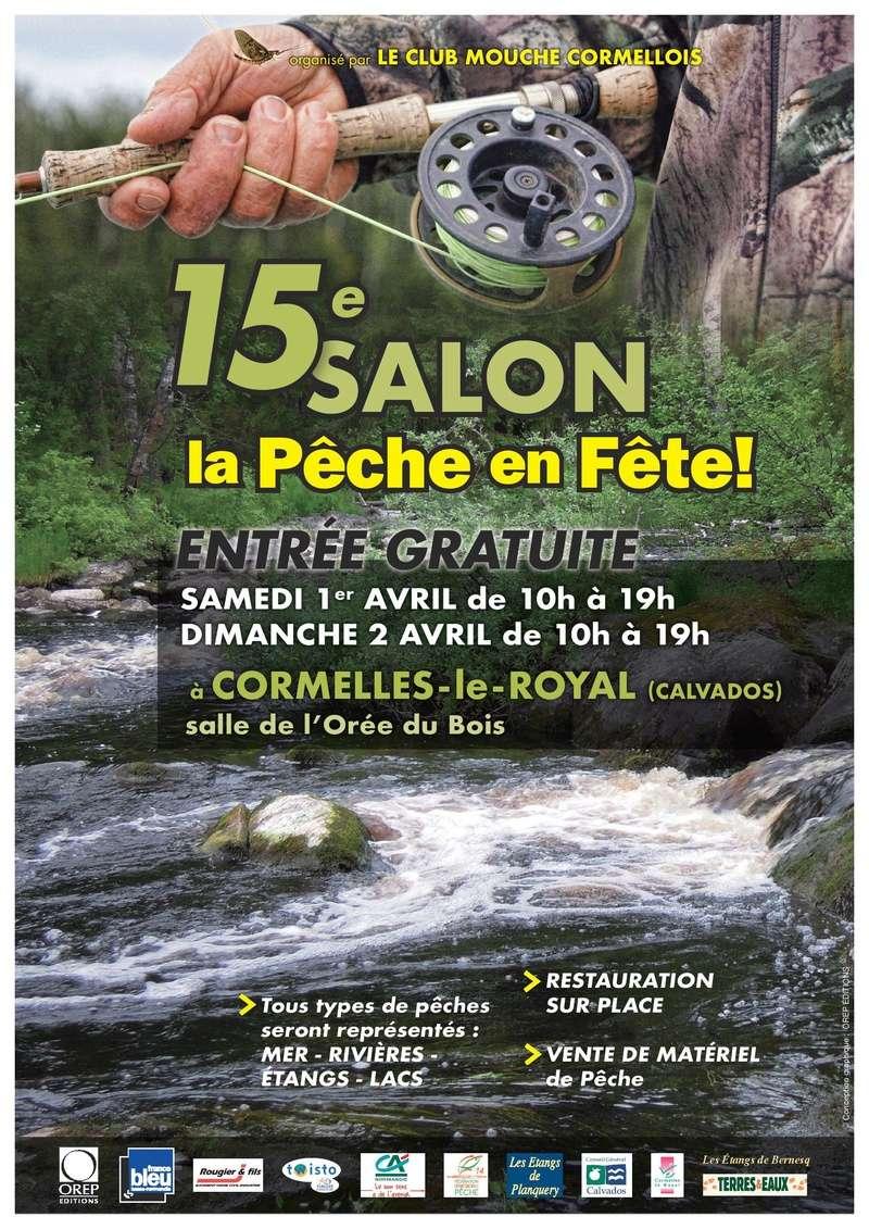 Salon de la p che caen 1er et 02 avril 2017 forum du for Salon de la peche courcelles les lens