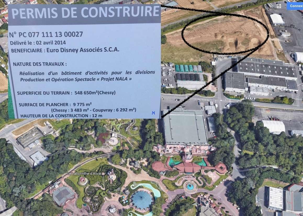 Ed92 nala du grandiose dans les coulisses - Forum permis de construire ...