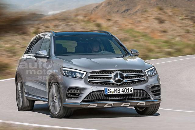Mercedes Glc Coupe 2019 >> 2018 - [Mercedes-Benz] GLC/GLC Coupé restylés