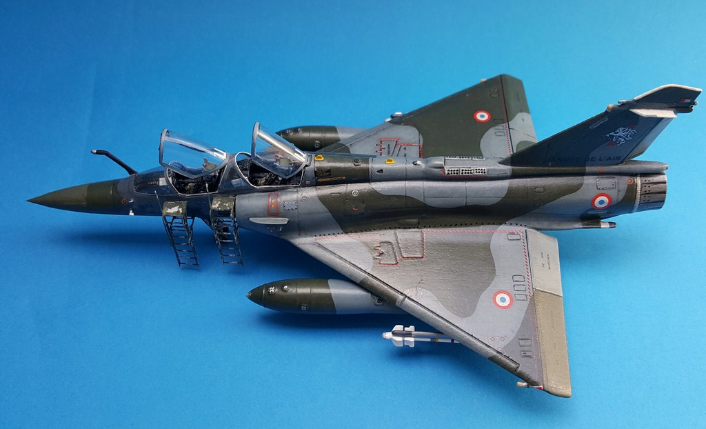 Mirage 2000d heller olymp resin 1 72eme le dio for Interieur mirage 2000