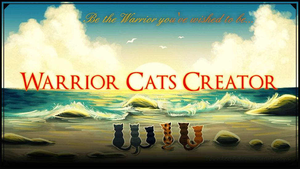 Warrior Cats Creator
