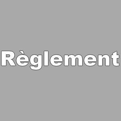 Règlement & Crédits
