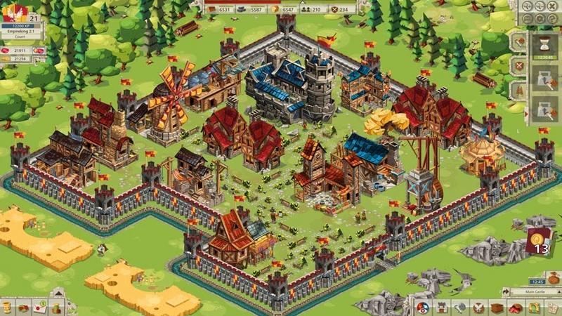 امراطورية اللعبه الجيدة Goodgame Empire