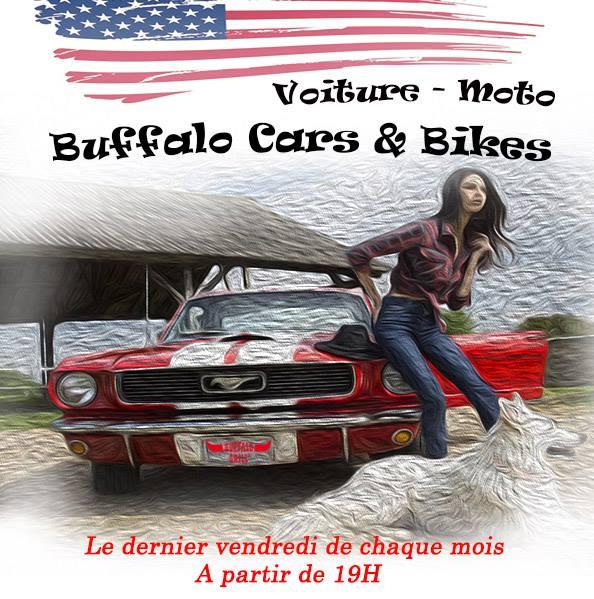 Buffalo cars bikes dernier vendredi du mois - Buffalo grill sainte genevieve des bois ...