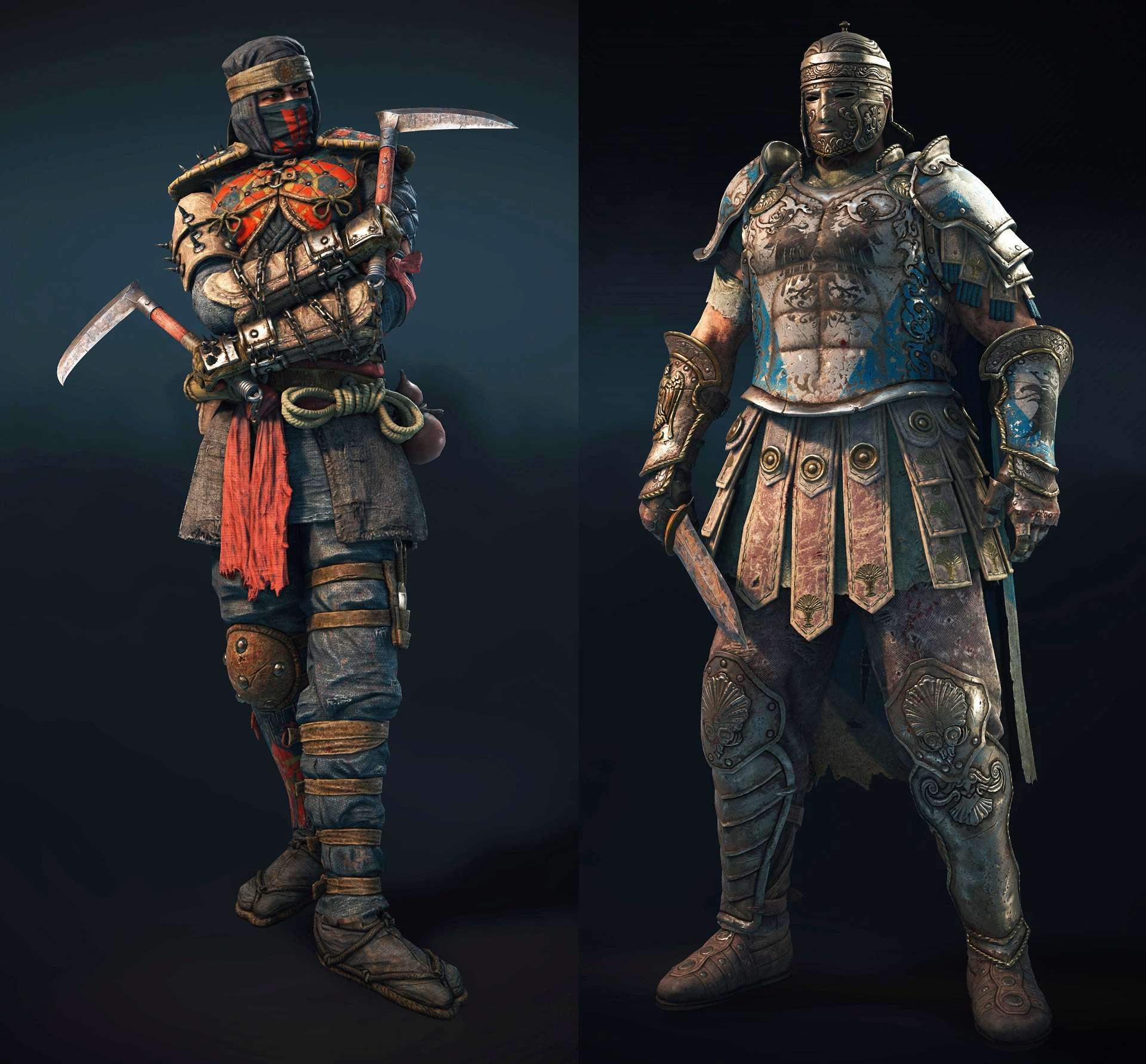 For Honor Shinobi e Centurione