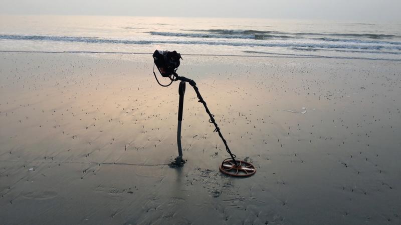 La détection sur les plages