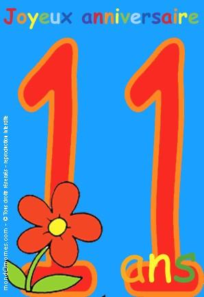 Le combien sommes nous aujourd 39 hui - Anniversaire garcon 11 ans ...