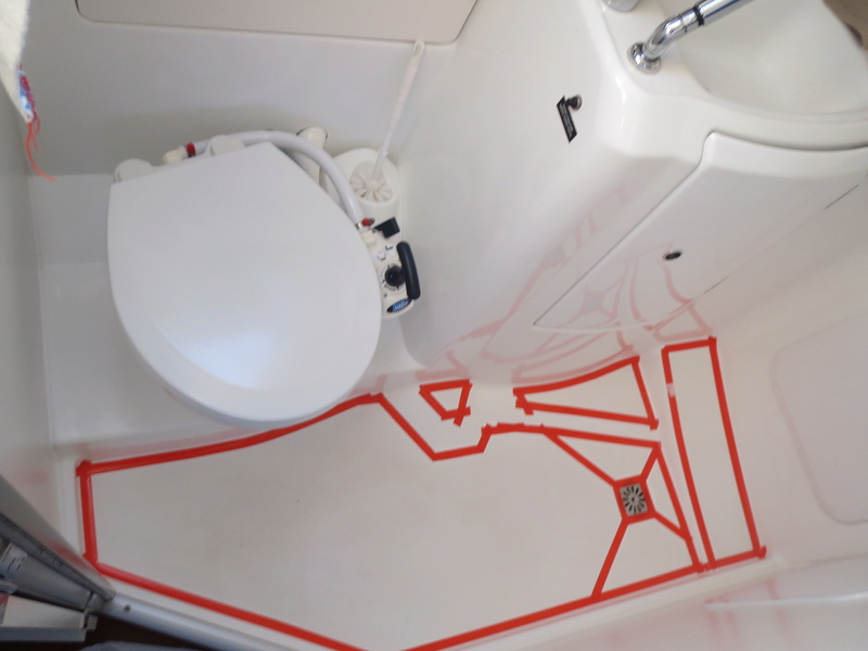peinture bac douche salle d 39 eau. Black Bedroom Furniture Sets. Home Design Ideas