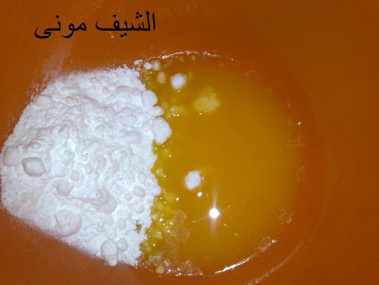 السلام عليكم ورحمة الله المكونات: نصف كوب زبده سايحه نصف