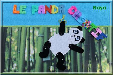 Le panda créatif