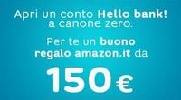 HELLO BANK BUONO AMAZON 150