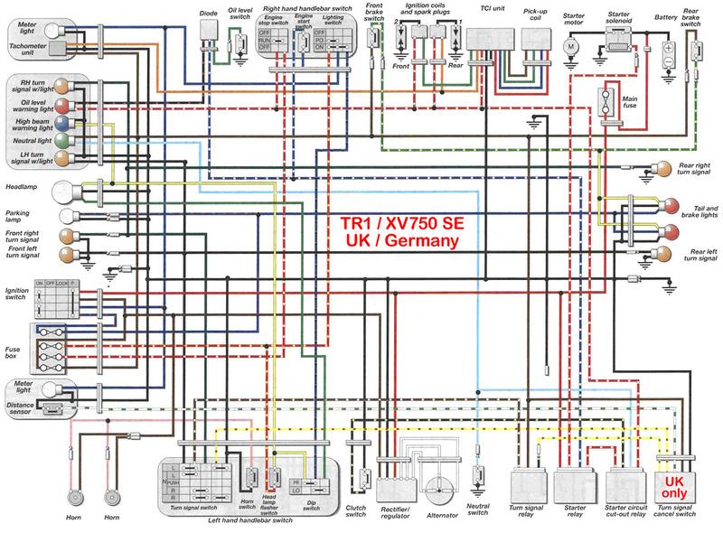 2004 yamaha v star 1100 wiring diagram xv 750 se >> xv 1100 virago cafe racer - page 7 yamaha v star 950 wiring diagram