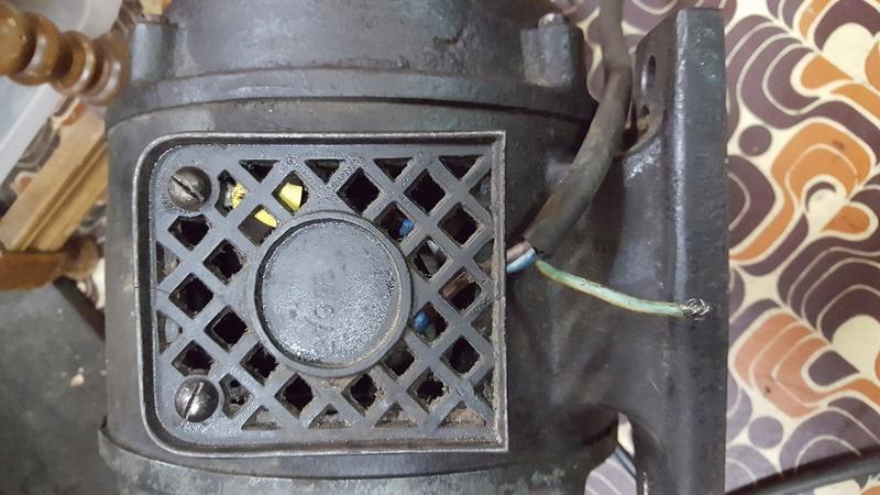 Probl me lectrique moteur 220v de 1920 1930 usinages - Probleme electrique disjoncteur qui saute ...