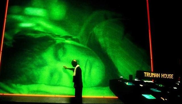 Спящая жена снятая камерой ночного видения