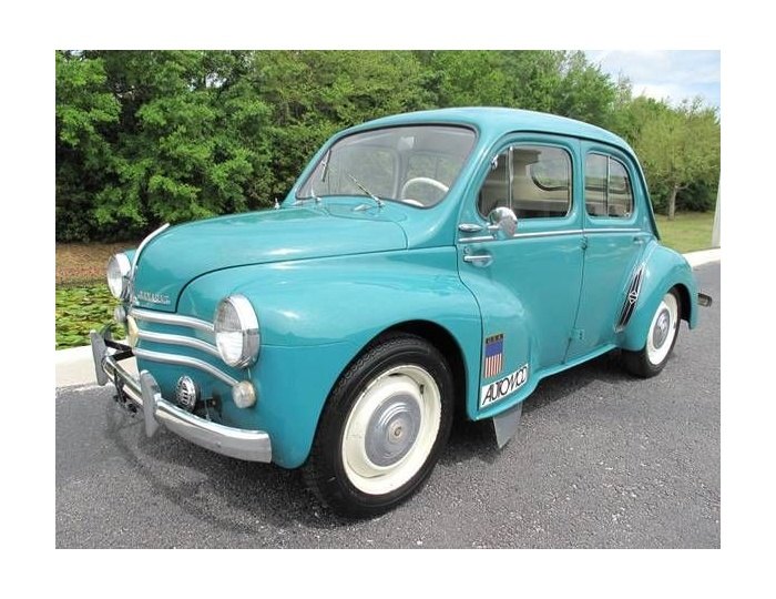 Renault 4cv 1961 for Interieur 4cv