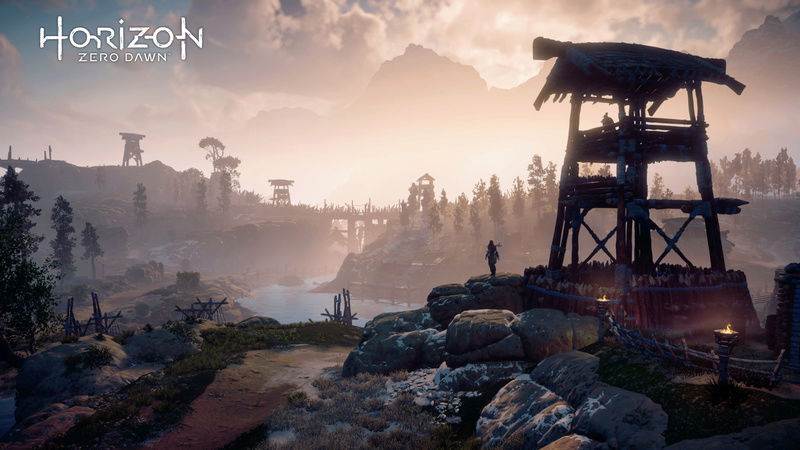 HORIZON ZERO DAWN! EXPLORE AND SHARE!