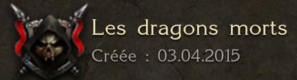 LIGUE LES DRAGONS MORTS