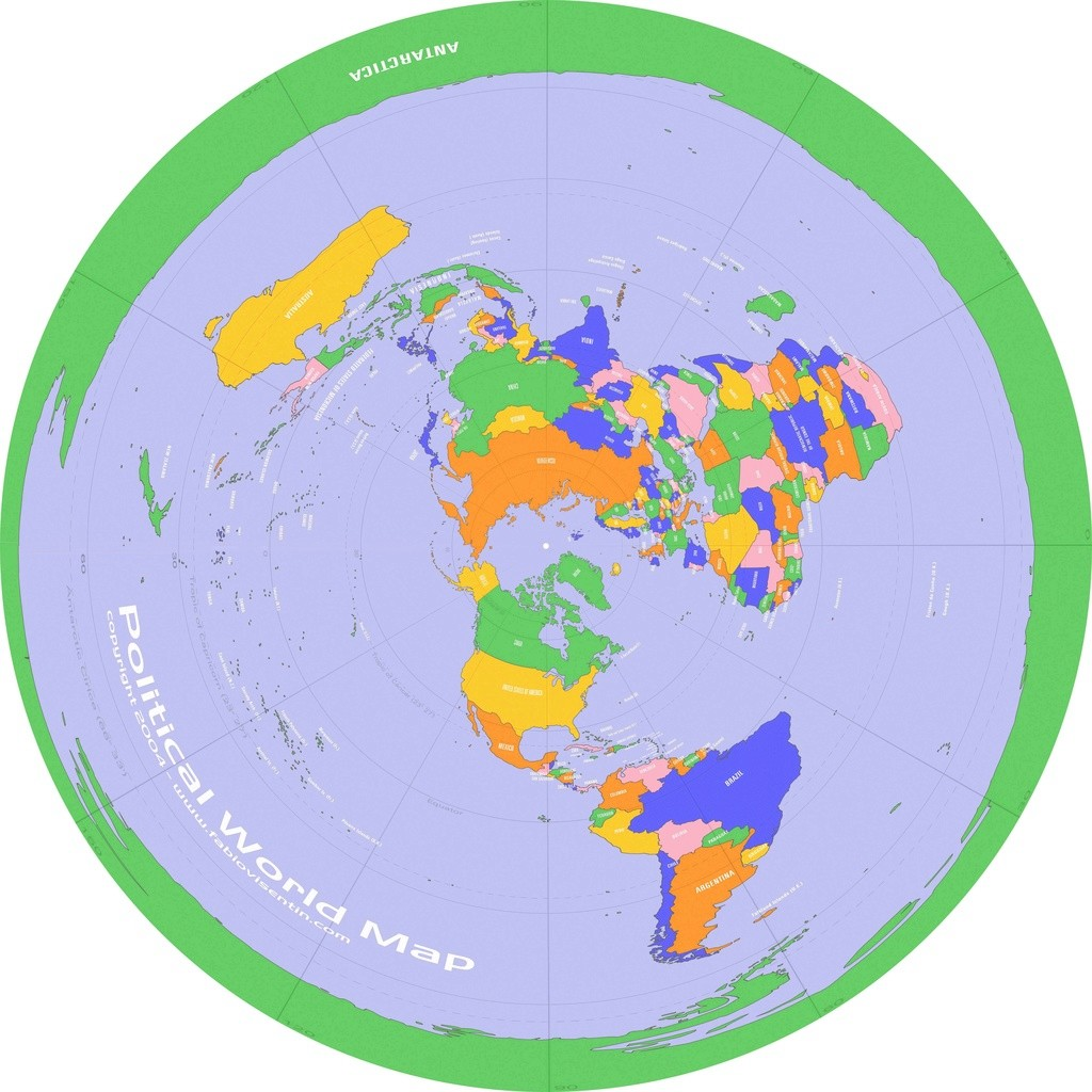 here's a high resolution version of this maphttpzeusthundererdeviantartcomartflatearthmapcountries. flat earth maps  page