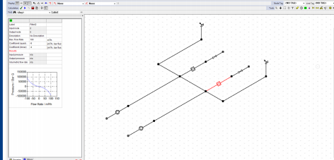 Phần mềm tính toán thủy lực trong thiết kế đường ống PIPENET