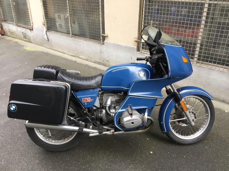 ancienne moto bmw gendarmerie id e d 39 image de moto. Black Bedroom Furniture Sets. Home Design Ideas