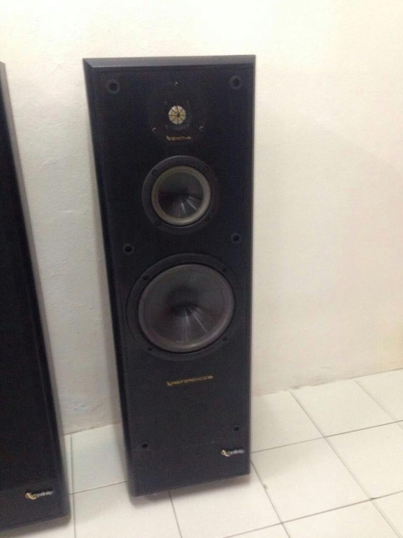 Infinity Reference 50 3-Way Floor Standing Speakers (Used)
