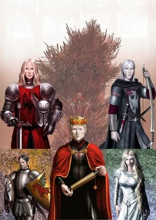 Le Trône de Fer : Corbeaux et Dragons : le chant du Sang et de la Suie