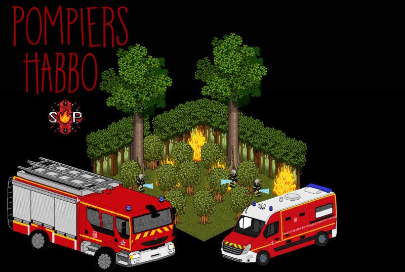Pompiers d'HabboCity