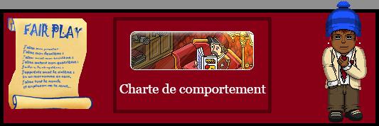 Charte de Comportement