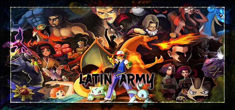 Latin Army Pokemon pro revolution Online